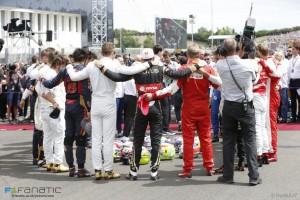 Tribute to Jules Bianchi, Hungaroring, 2015.
