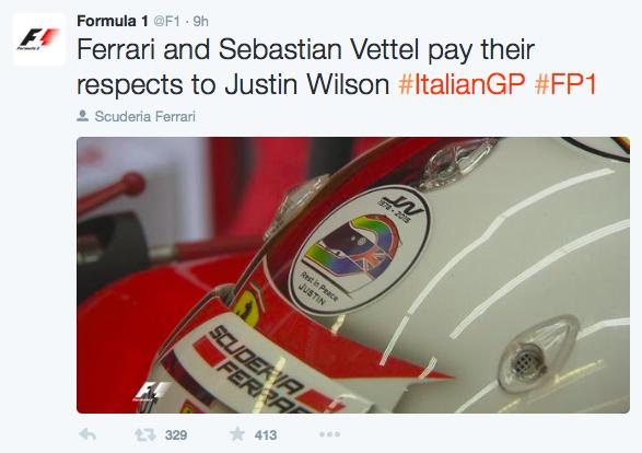 F1 Blog - Justin Wilson - Formula 1