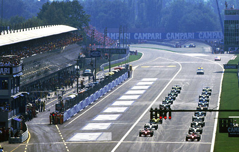 The future of Monza on the F1 racing calendar looks uncertain.