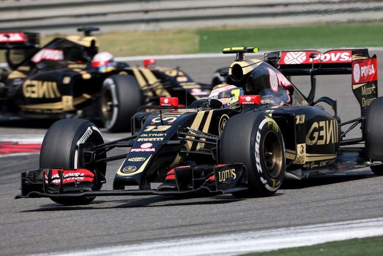 It was not a pleasing race for Lotus, with two DNF's