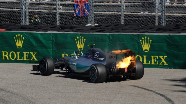 It was a disappointing day for Mercedes' Nico Rosberg.