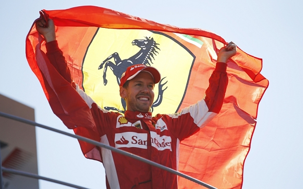 Vettel was spurred on with all the supporters at Monza to grab second place.