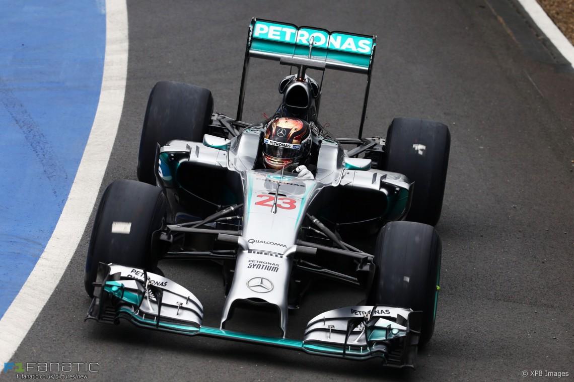 Motor Racing - Formula One Testing - In-Season Test - Day 1 -  Silverstone, England